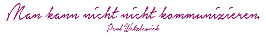 Tan Consulting Zitat Watzlawick